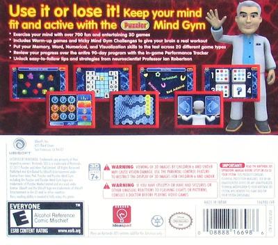 Puzzler Mind Gym 3D 3DS backM (APUE)
