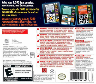 Puzzler World 2012 3D 3DS backM (APWE)