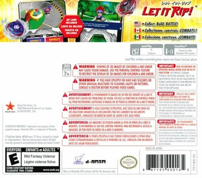 Beyblade - Evolution 3DS backM (ARXE)