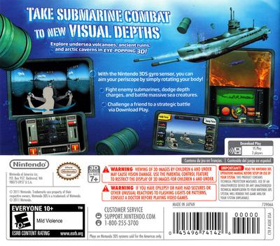 Steel Diver 3DS backM (ASDE)