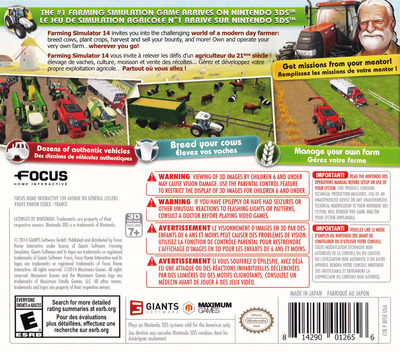 Farming Simulator 14 3DS backM (BFSE)