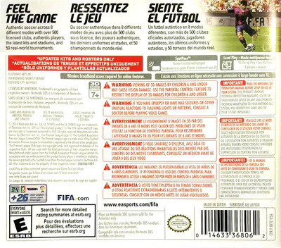 FIFA 15 - Legacy Edition 3DS backM (BFTE)