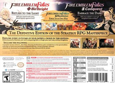 Fire Emblem - Fates Special Edition 3DS backM (BFZE)
