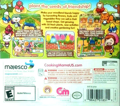 Gardening Mama 2 - Forest Friends 3DS backM (BGME)