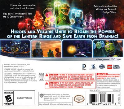 LEGO Batman 3 - Beyond Gotham 3DS backM (BTME)