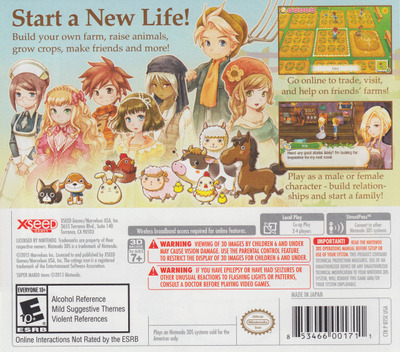 Story of Seasons 3DS backM (BTSE)