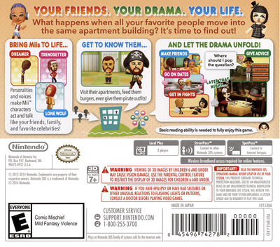Tomodachi Life 3DS backM (EC6E)