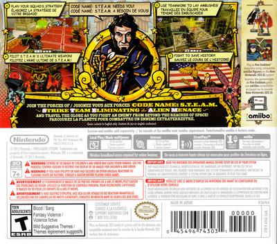 Code Name: S.T.E.A.M. 3DS backM (AY6E)