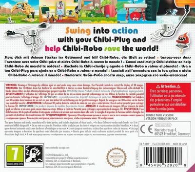 Chibi-Robo! Zip Lash 3DS backMB (BXLP)