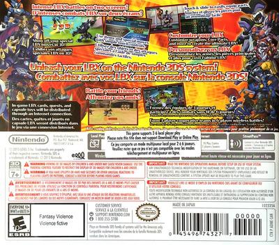 LBX - Little Battlers eXperience 3DS backMB (ADNE)
