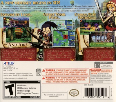 Etrian Odyssey IV - Legends of the Titan 3DS backMB (ASJE)