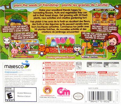 Gardening Mama 2 - Forest Friends 3DS backMB (BGME)
