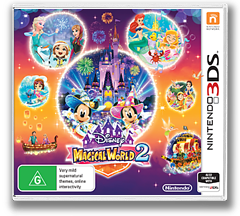 Disney Magical World 2 3DS cover (BD2P)