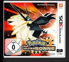 Pokémon Ultra Sun 3DS cover (A2AP)