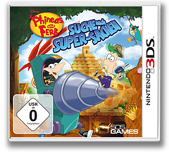 Phineas and Ferb - Quest for Cool Stuff 3DS cover (AAWP)