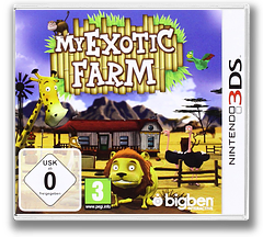 My Exotic Farm 3DS cover (ABUP)