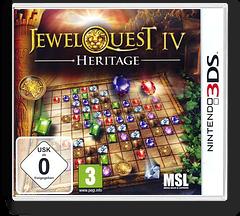 Jewel Quest IV - Heritage 3DS cover (AJ4P)