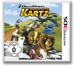DreamWorks Super Star Kartz 3DS cover (AKZP)