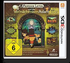 Professor Layton und das Vermaechtnis von Aslant 3DS cover (AL6D)