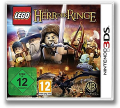 LEGO The Lord of the Rings 3DS cover (ALAP)