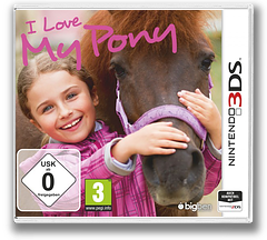 I Love My Pony 3DS cover (ALNP)