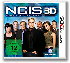 NCIS 3D 3DS cover (ANCP)