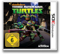 Nickelodeon Teenage Mutant Ninja Turtles 3DS cover (ANYP)