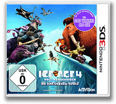 Ice Age 4 - Continental Drift - Arctic Games 3DS cover (AQLP)