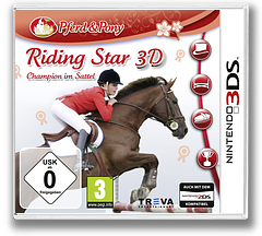 Riding Star 3D - Champion im Sattel 3DS cover (ARSP)
