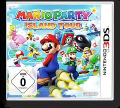 Mario Party - Island Tour 3DS cover (ATSP)