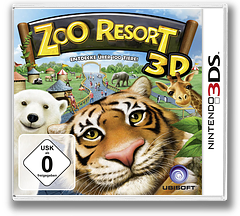 Zoo Resort 3D 3DS cover (AZOP)