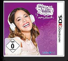 Disney Violetta - Rhythm & Music 3DS cover (BGRP)