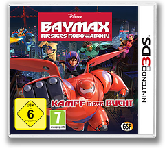 Big Hero 6 - Battle in the Bay 3DS cover (BH6Z)
