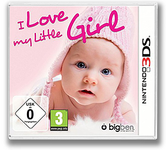 I Love My Little Girl 3DS cover (BLGP)