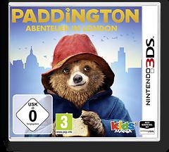 Paddington - Adventures in London 3DS cover (BPLP)