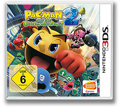 Pac-Man and the Ghostly Adventures 2 3DS cover (BPMP)