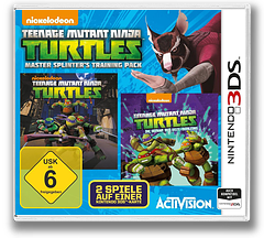 Teenage Mutant Ninja Turtles - Master Splinter's Training Pack 3DS cover (BTNP)