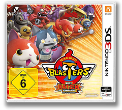 Yo-Kai Watch Blasters: Red Cat Corps 3DS cover (BYAP)