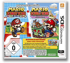 Mario and Donkey Kong - Minis on the Move 3DSWare cover (JB7P)