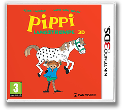 Pippi Langstrømpe 3D 3DS cover (APEP)