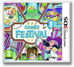 Games Festival 1 3DS cover (AAEP)