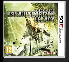 Ace Combat - Assault Horizon Legacy 3DS cover (AC3P)