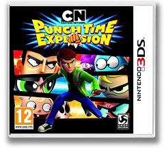 Cartoon Network - Punch Time Explosion 3DS cover (ACNP)