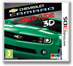 Chevrolet Camaro - Wild Ride 3D 3DS cover (ACWP)