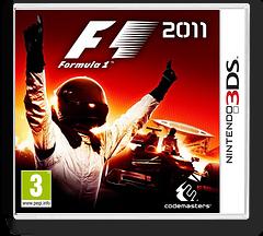 F1 2011 3DS cover (AF4P)