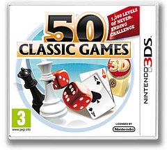 50 Classic Games 3D 3DS cover (AF6Z)