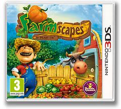 Farmscapes 3DS cover (AF9F)