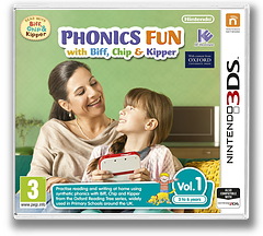 Phonics Fun with Biff, Chip & Kipper Vol. 1 3DS cover (AFZP)
