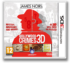 James Noir's Hollywood Crimes 3D 3DS cover (AHCP)