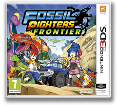 Fossil Fighters - Frontier 3DS cover (AHRD)